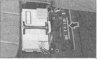 Схема предохранителей и реле Mercedes W168 (A-Class; 1997-2004)