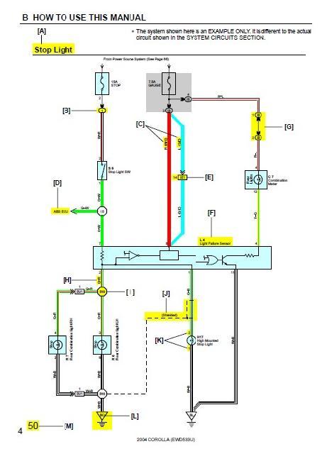 схема электрическая corolla 120 - Лучшая схемотехника.