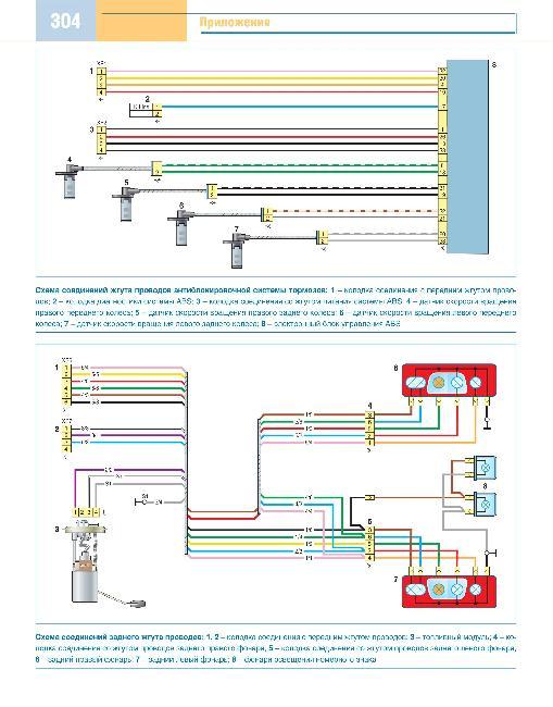 Скачать Цветные схемы электрооборудования Газель Бизнес.  Кликните на картинку, чтобы увидеть полноразмерную версию.