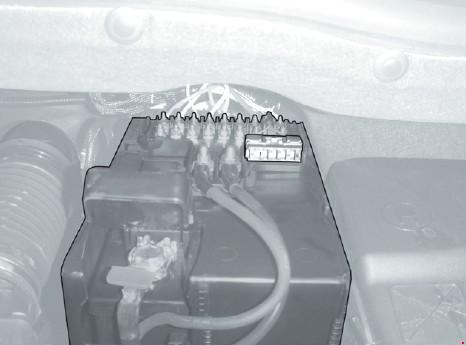 Схема предохранителей Citroen C4 Picasso