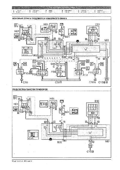Электрическая схема fiat doblo фото 270