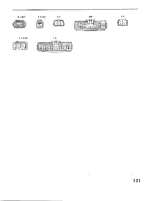 Схемы электрооборудования Toyota MR2 (1991)