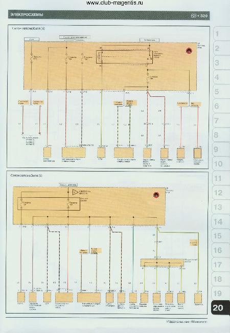 Схемы электрооборудования Kia Magentis / Optima с 2009