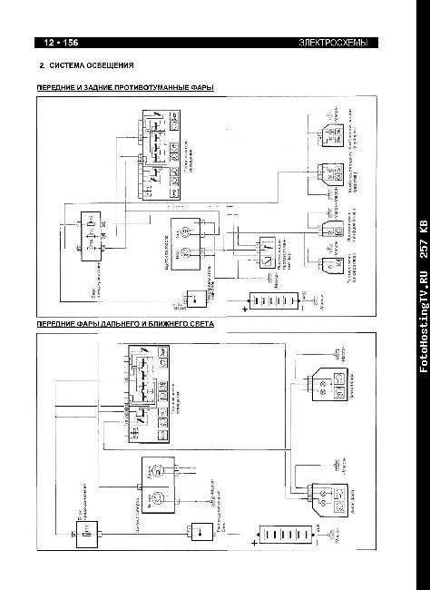 Схемы электрооборудования Iran Khodro Samand