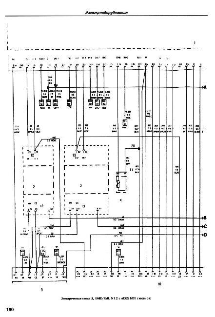Электрические схемы BMW 7 серии (E23, E32) 1977-1994