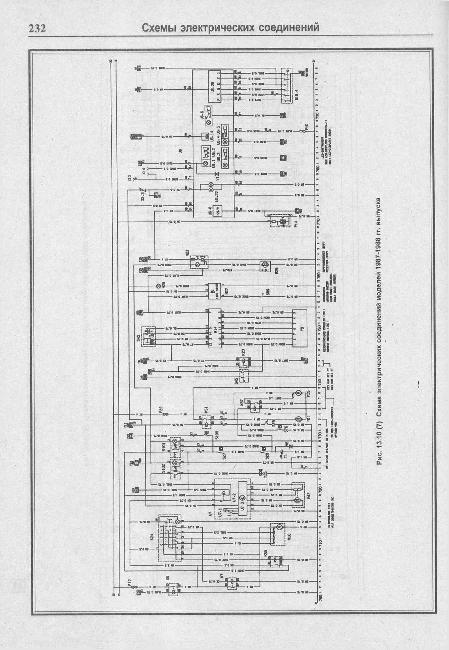 Схемы электрооборудования Opel