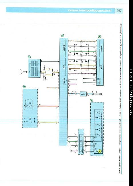 Схемы электрооборудования KIA CERATO с 2008 бензин