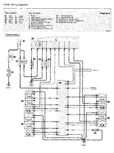 Схема электрооборудования Skoda Fabia 2000-2006 (EN)
