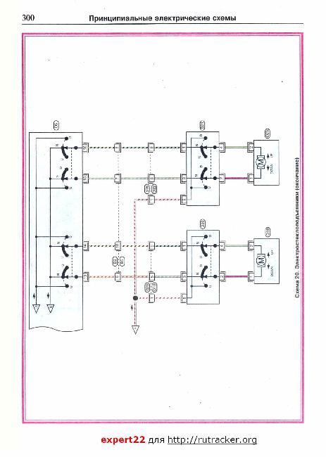Схемы электрооборудования Nissan Primera (P11)