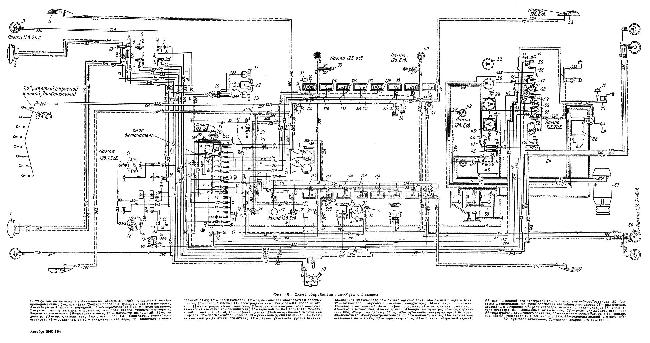 Схема электрооборудования автобуса ЗиС-154