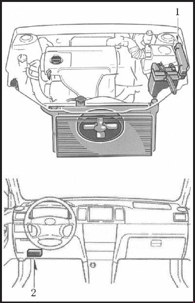 Плавкие предохранители и реле автомобиля BYD F3