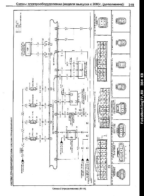 Схемы электрооборудования Mazda 6 выпуска с 2002 г