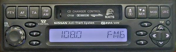 Распиновка разъемов автомагнитолы Nissan PP-1675H